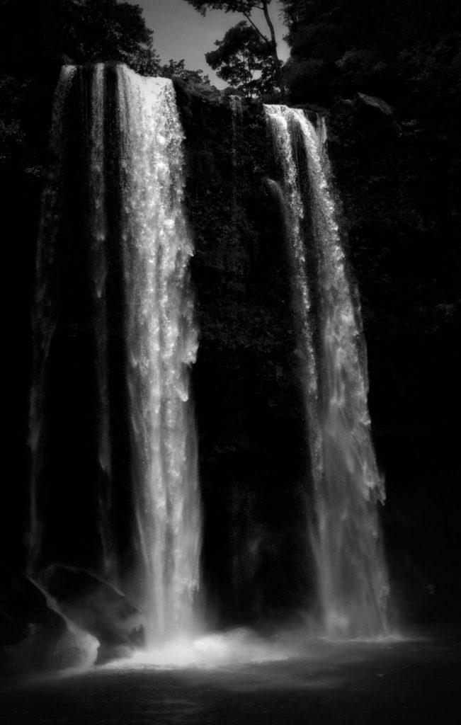 Der Wasserfall von Misol-Ha in Chiapas - Mexiko