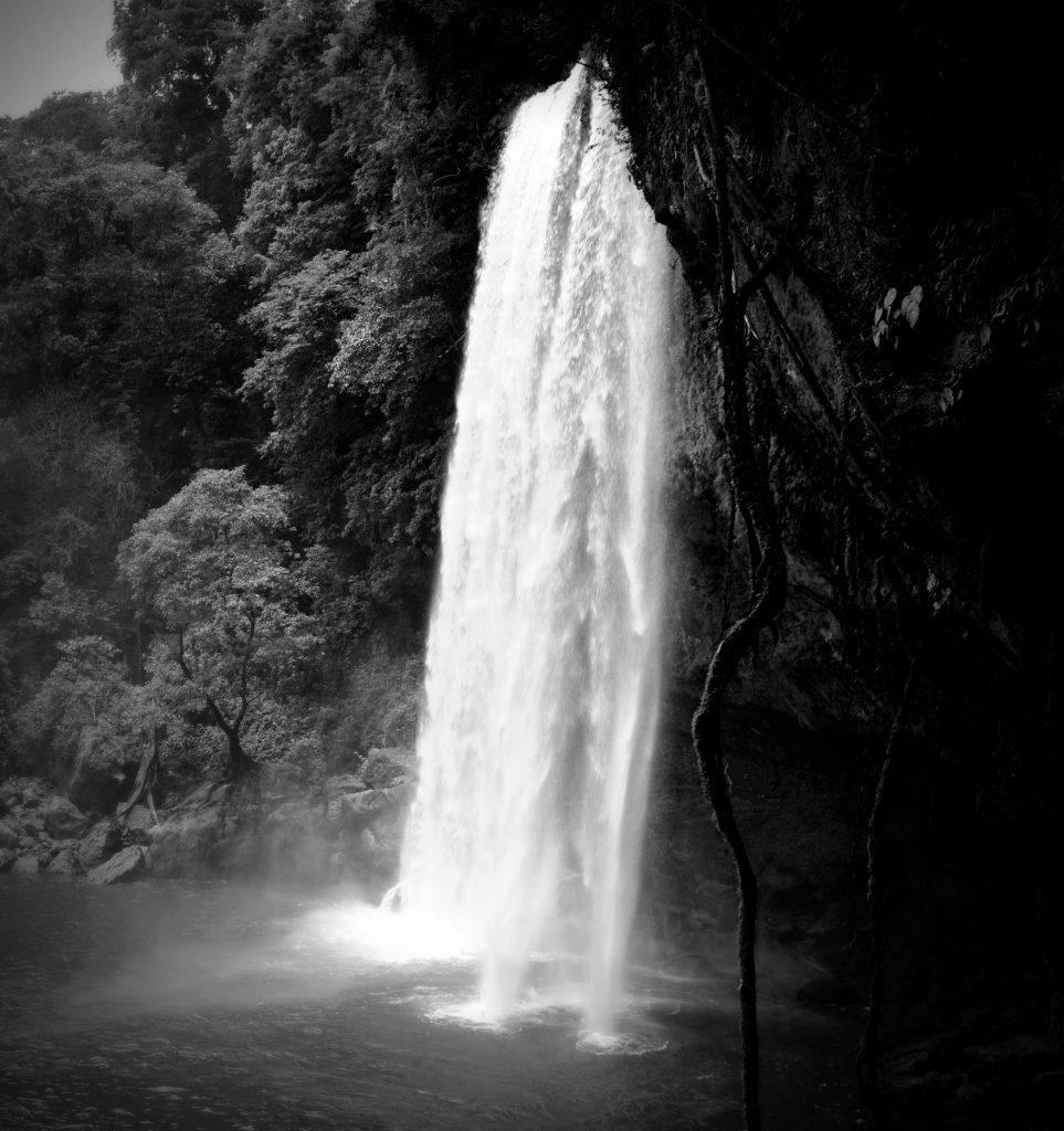Wasserfall von Mizol - Ha, Chiapas, Mexiko