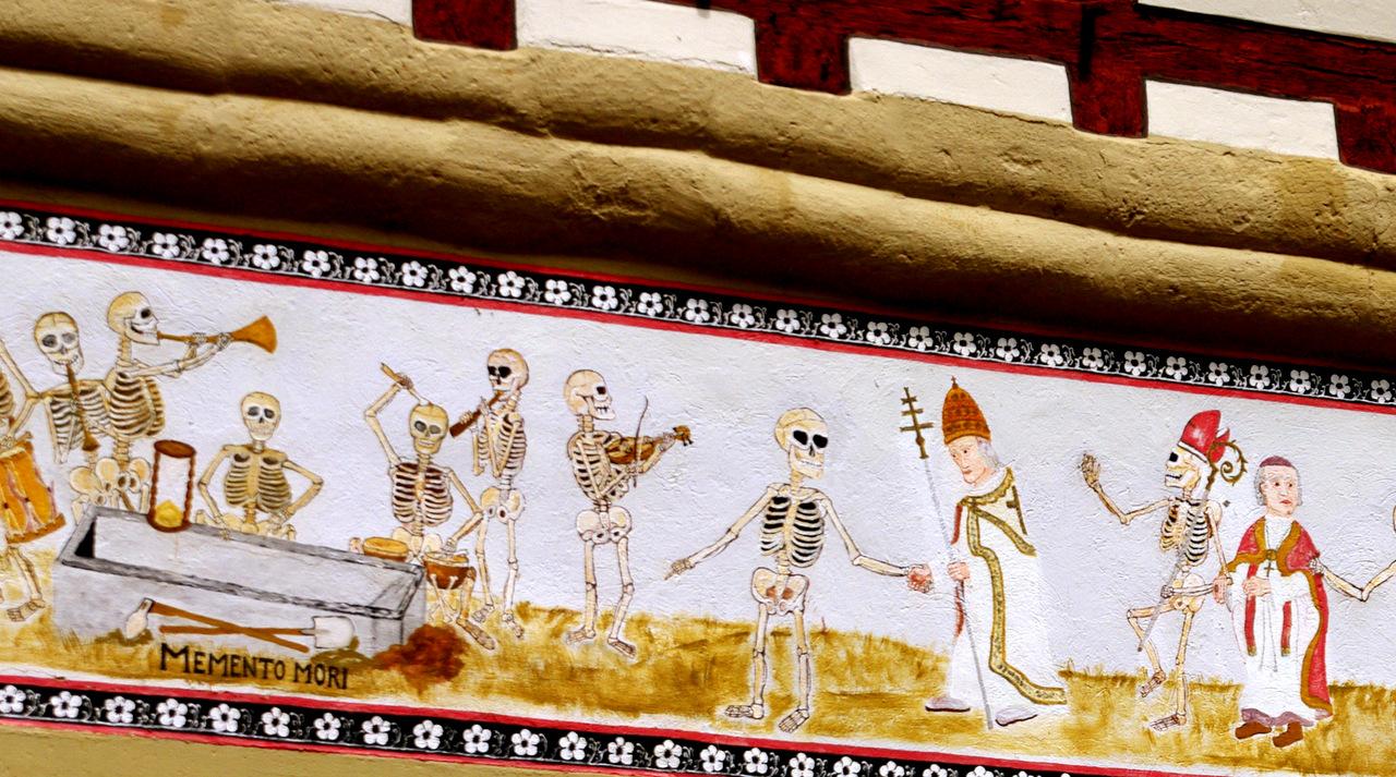 Memento mori - Eppingen Wandmalerei