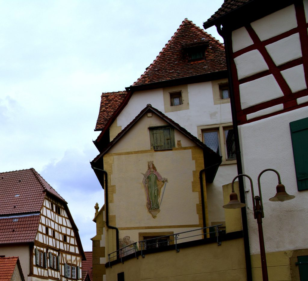 Wandmalerei - Eppingen im Kraichgau