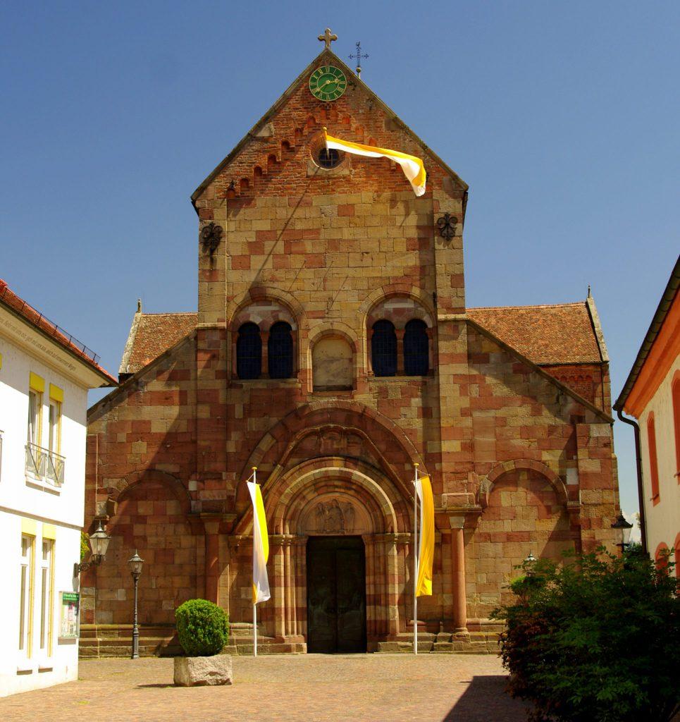 Kirchenportal - Klosterkirche St. Peter und Paul der ehemaligen Benediktiner-Abtei Schwarzach