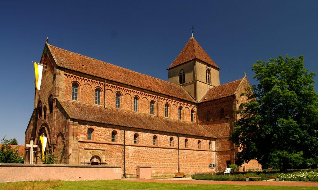 Seitenansicht - Münster in Rheinmünster-Schwarzach