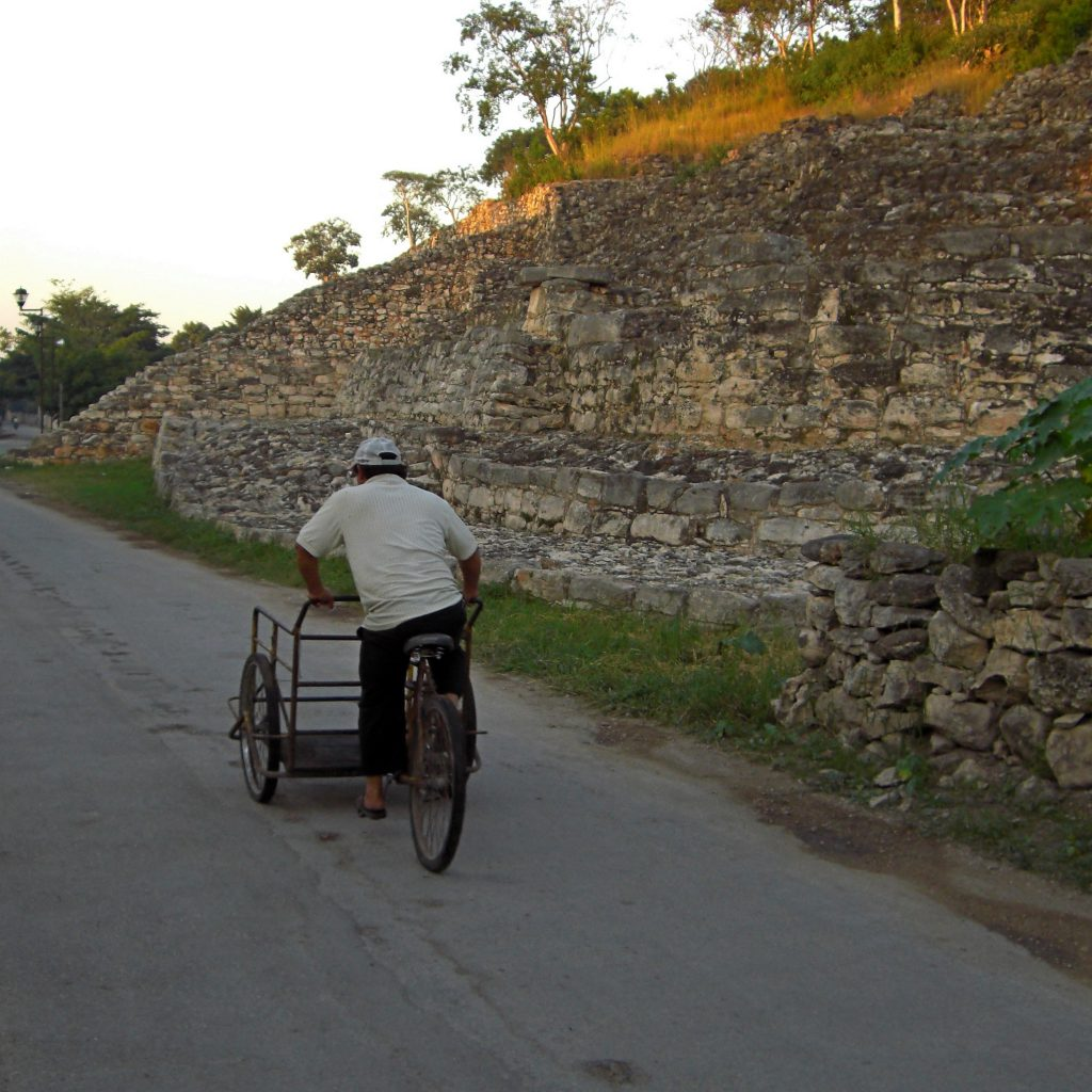 Transportation bike in Izamal