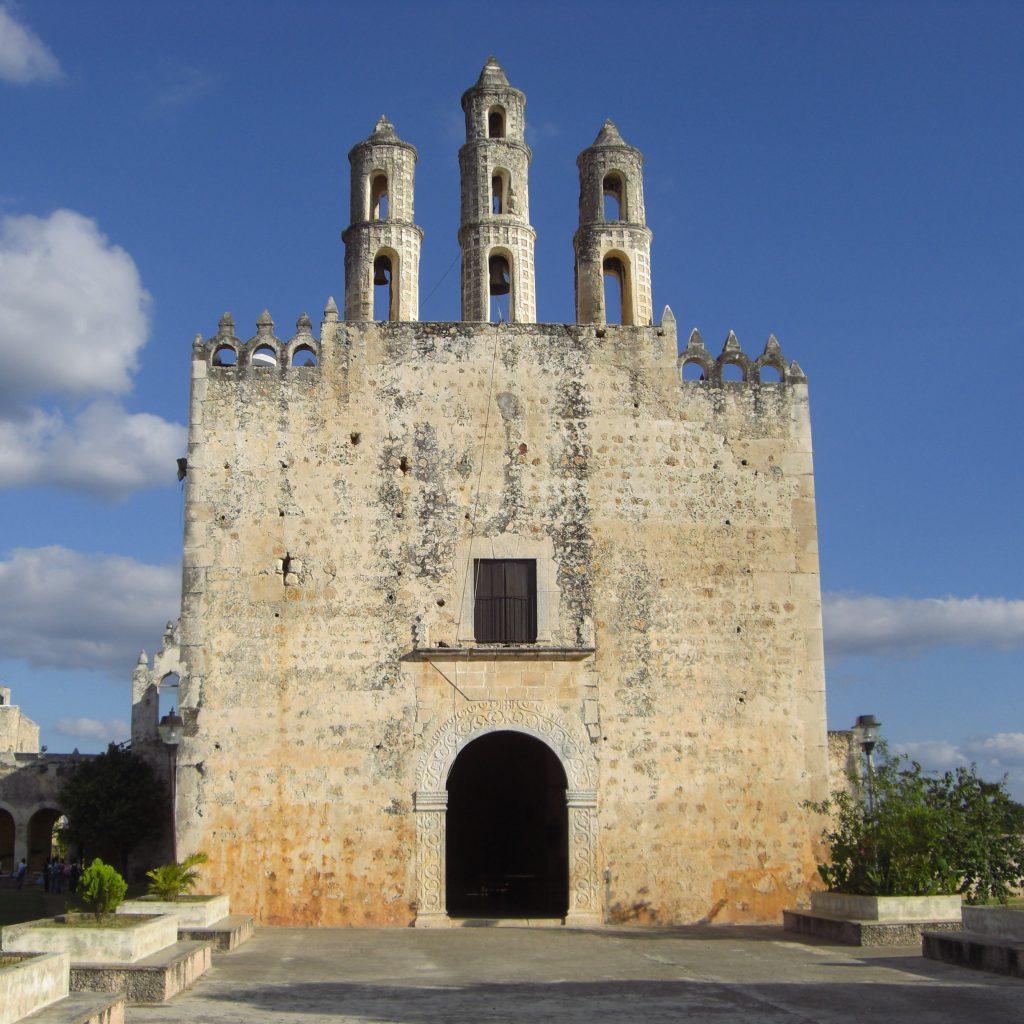 Chuch in Homun, Yucatan