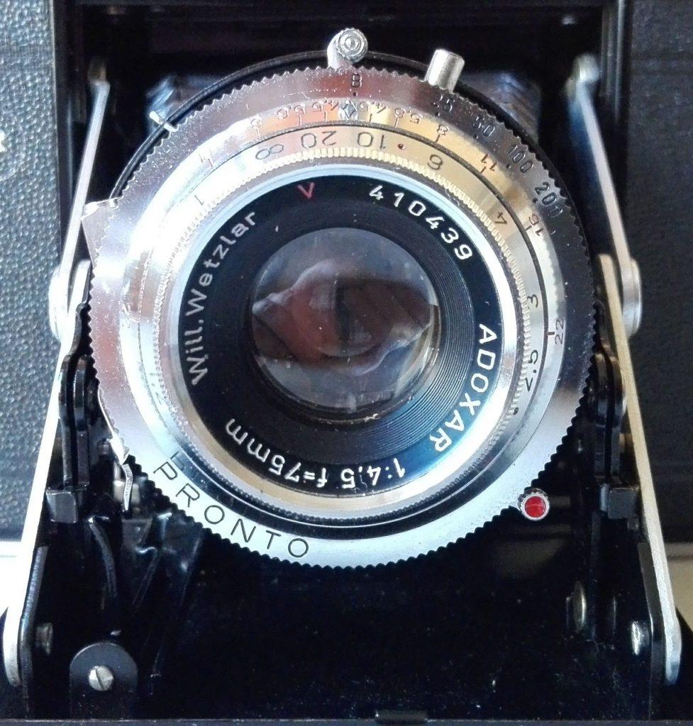 Will Wetzlar - Adoxar 1:4,5 f=75mm