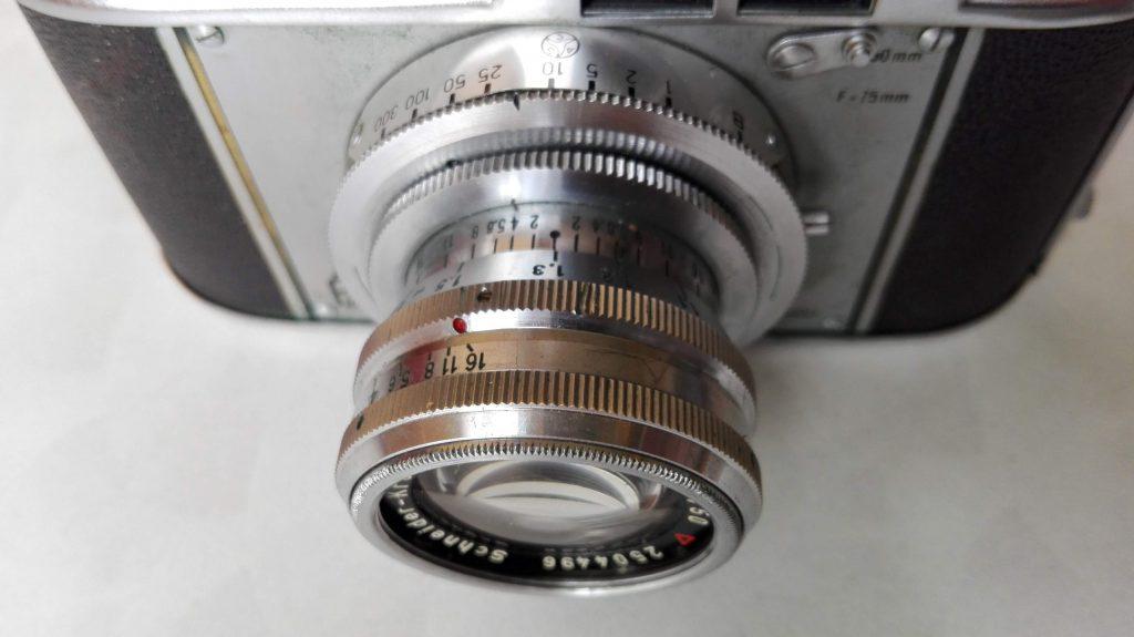 Akarette II - Schneider Kreuznach XENON 1:2,0 F=50mm