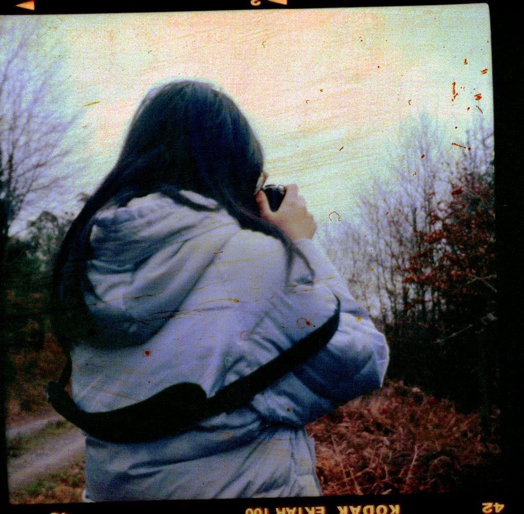 Fotografin - Zeiss Ikon Nettar - Kodak Ektar