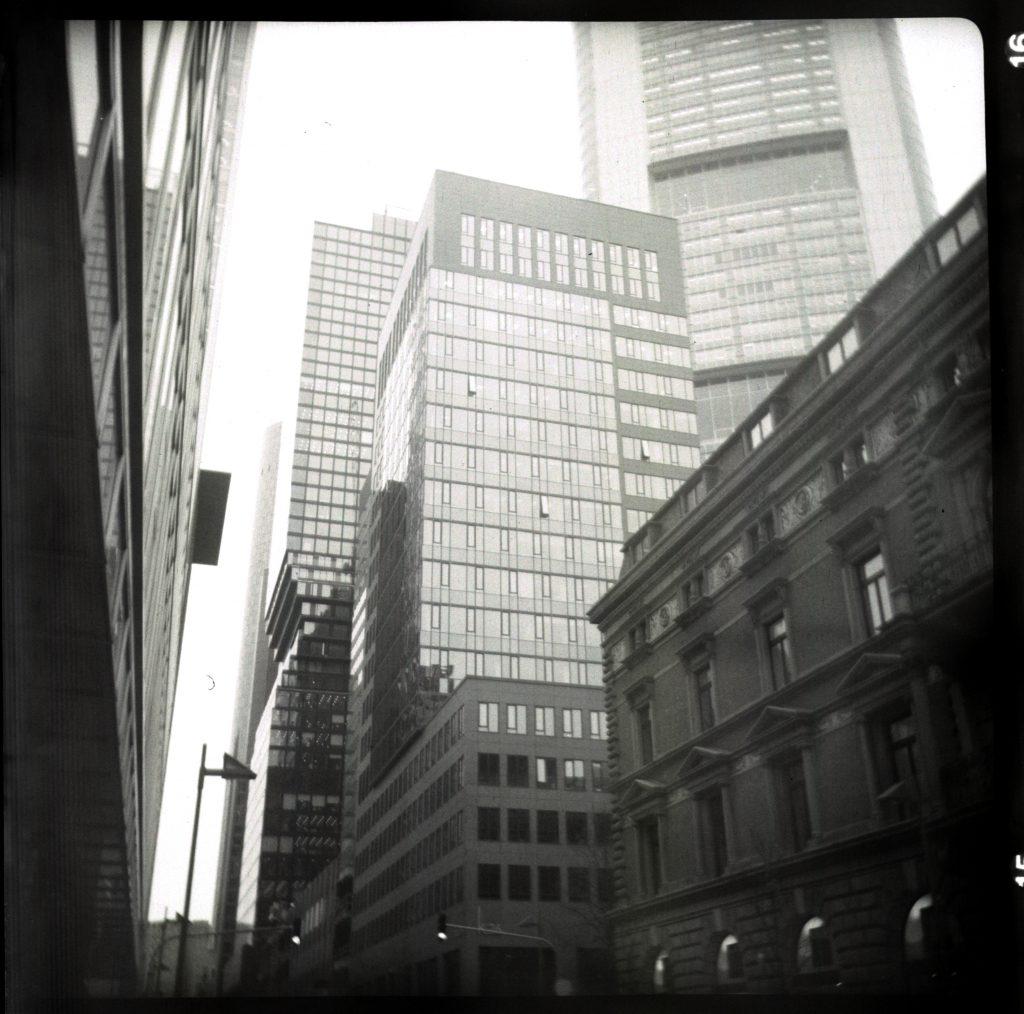 Hochhäuser im Bankenviertel