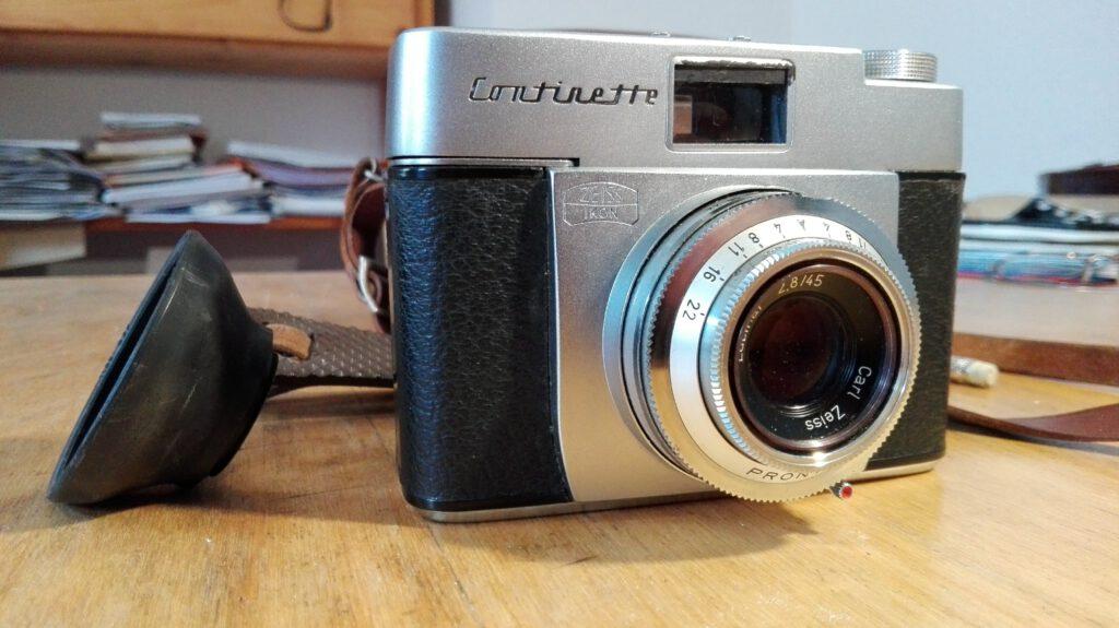 Zeiss Ikon Continette mit Lucinar 2.8 / 45 mm